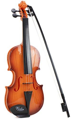 Kinder Musik Spielzeug Geige Violine Vintage Western Streichinstrument Bogen