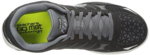 Skechers - Skechers Go Walk 2 Flash, Scarpe sportive outdoor Uomo Nero (Black/Grey)