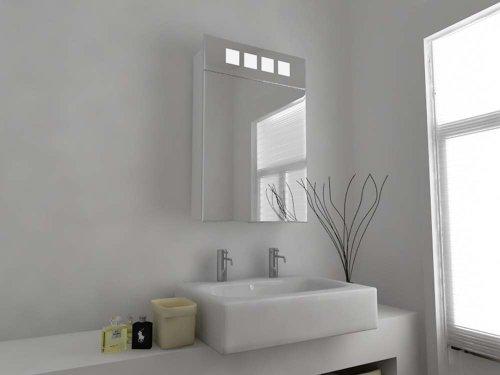 Modern Mirror Design Pensile Con Specchio Per Bagno