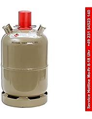Stahl Gasflasche Inhalt->11 kg