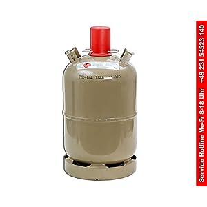 Gasflasche Stahl 11 kg