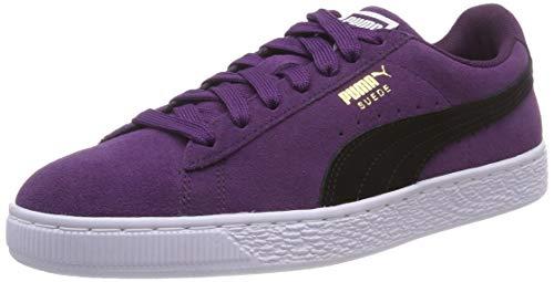 Puma Suede Classic+, Zapatillas Unisex Adulto, Morado (Shadow Purple Black White 40), 44 EU