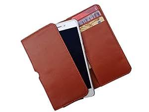 ATV PU Leather OCHRE Pouch Case Flip Cover For Oppo Joy 3