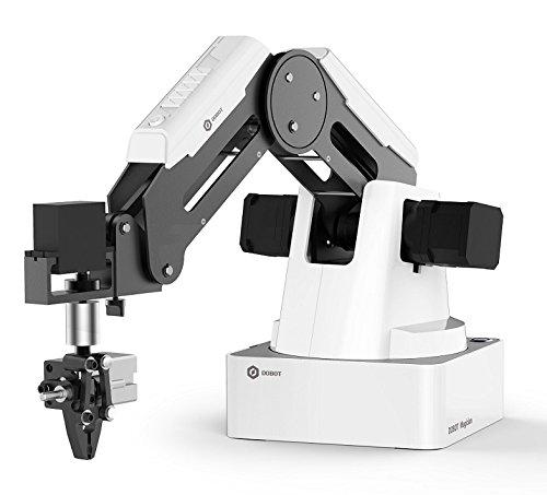 DOBOT Magician programmierbarer Bildungsroboter, 4-Achsen-Roboterarm mit 3D-Drucker,...