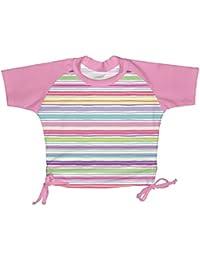 I play–Baby Camiseta de natación para niña