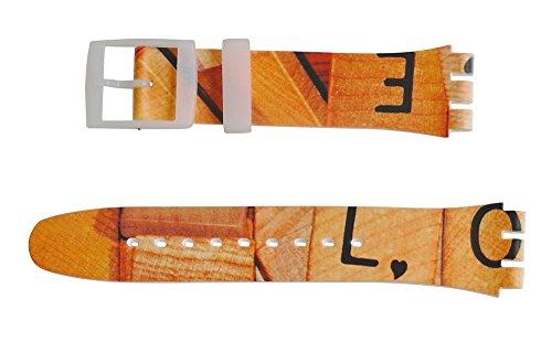 Original Swatch New Gent Armband Love Game (ASUOW116) 19 mm Bandansatz