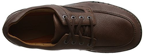 Clarks unnature Time, Derbys Homme Marron (Brown Leather)