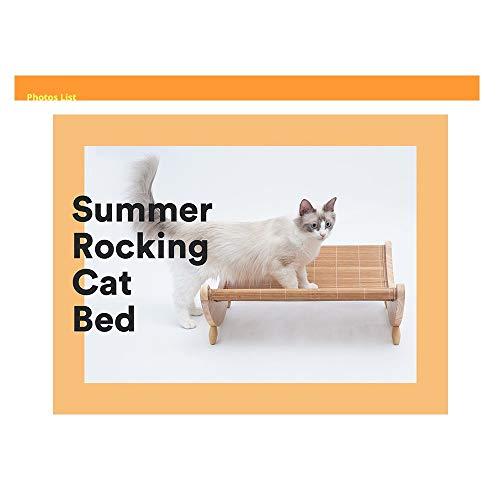 XYZHP-Pet Cat_Mat Liegestuhl Sommer Outdoor-Dual-Purpose Sessel Schaukelstuhl Hängematte Haustier-Bett-Hund Nest Sommer Tierbedarf Kühle -