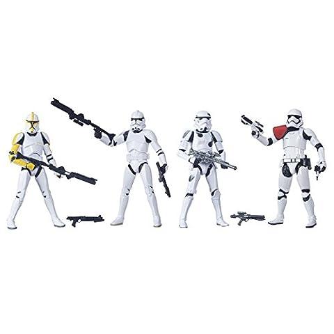 Star Wars Black Series figures 6 pouces Trooper Builder 4 pieces (provisoire) peint chiffre