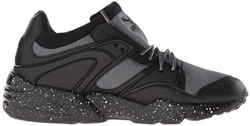 Puma, Sneaker uomo Red Blast-puma Black Steel Gray/Puma Black