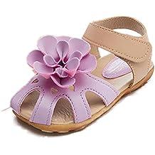 Culater Zapatos para niña Zapatillas Sandalias Chicas flor (2~7 años)
