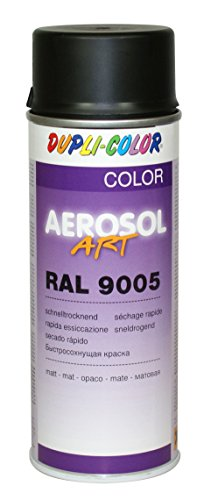 Dupli-Color 733161 Aerosol Art 400 ml, schwarz matt