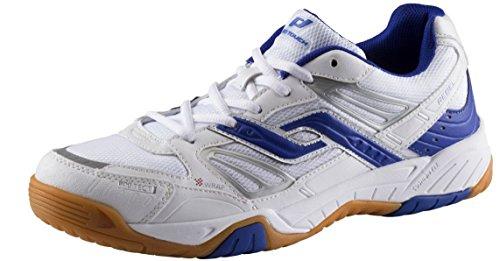 Rebel pro touch chaussures de sport-homme-blanc/bleu - Blanc/bleu