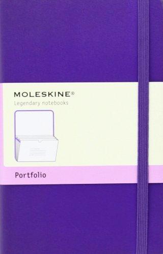 Moleskine Portfolio Notizen-Organizer(Pocket, Fester Einband) violett (Classic Organizer Pocket)