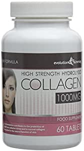 Evolution Slimming 1000mg Hydrolysed Collagen - Pack of 60 Tablets