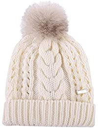 Woolrich Cappello Donna WWACC1405AC938270 Lana Bianco ad5fc799657b