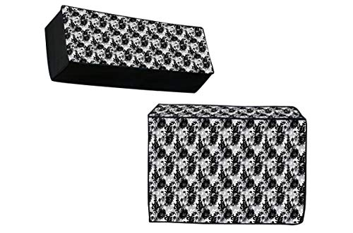Jass Home Decor PVC Indoor and Outdoor AC Cover Set, Size- 1.5 Ton, 2 Piece - Multicolour