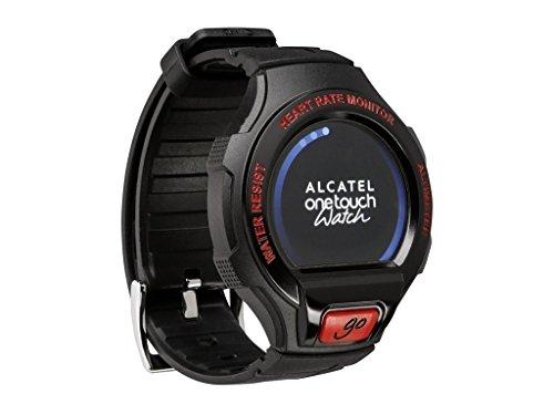 Alcatel OneTouch Go Watch Small/Medium Smartwatch (Black/Red)