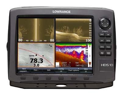 Lowrance HDS-10 Gen2 - 10,4' Multifunktions-Kartenplotter mit Fischfinder