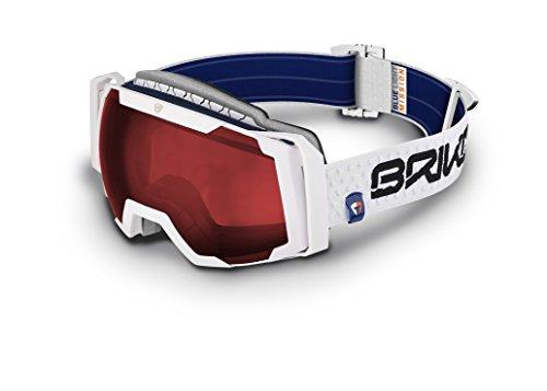 Briko Sciara-Maschera da sci, unisex, colore: nero, taglia unica