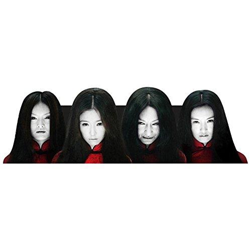 Sedeta® A Halloween Horror Female Geist-Abziehbild-Dekor-Auto-hintere Windschutzscheibe Aufkleber ()