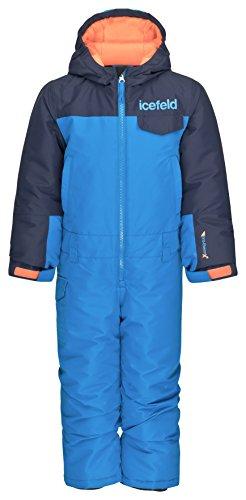 Schneeoverall / Skianzug blau in Größe 110/116