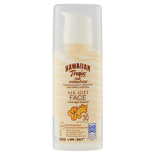 Hawaiian Tropic silk hydration air soft face SPF30-50ml