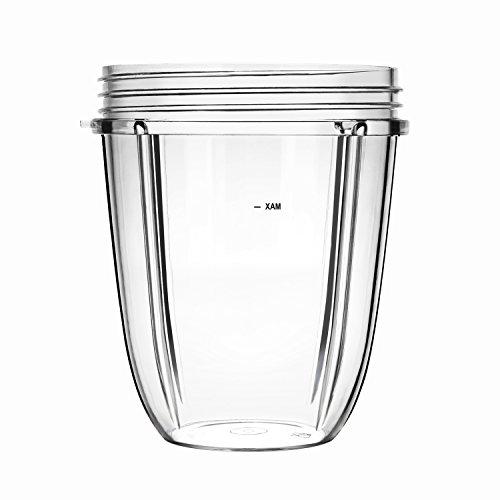 UNIQUEBELLA Ersatzteile Für Nutribullet , 18 OZ Kleine Tasse ,Cup Entsafter Zubehör Für NUTRIBULLET Blender Entsafter Nutri-ninja-tassen