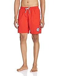 Gant Mens Synthetic Shorts (8907163979353_GMHHF0022_Large_Bright Red)