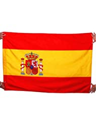 Bandera de Francia, Alemania y Reino unido, Italia y España, Bélgica, 96 x 144 cm, tejido 100% poliéster., color  - españa, tamaño 144*96cm