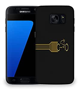 Snoogg Tron Legacy Designer Protective Phone Back Case Cover For Samsung Galaxy S7