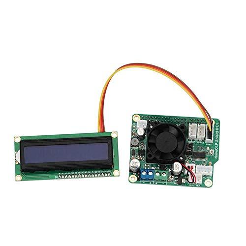 AiCheaX Scheda di espansione Gimax fotopolimerizzante Nanno DLP Shield V1.1 Raspberry Pi 3B con Schermo 1602A per Stampante 3D