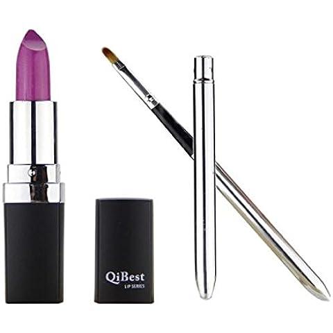 Fortan Impermeabile duratura Vampire stile del rossetto Lip Gloss + Mini pennello labbra PP/07 - 07 Tubo