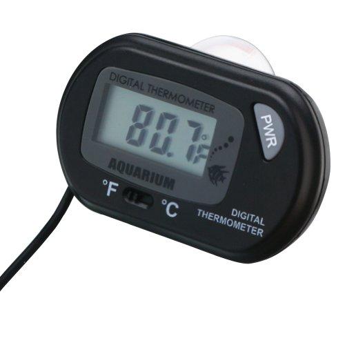 Saugnapf Digital LCD Display Aquarium Terrarium Thermometer mit Sensor -50~+70 ℃