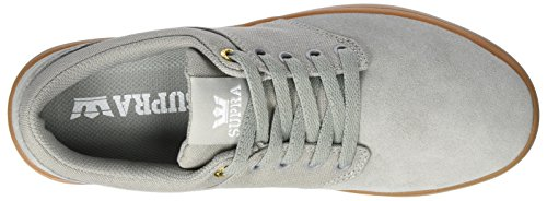 Supra Herren Chino Court Sneaker Grau (Lt. Grey-Gum)