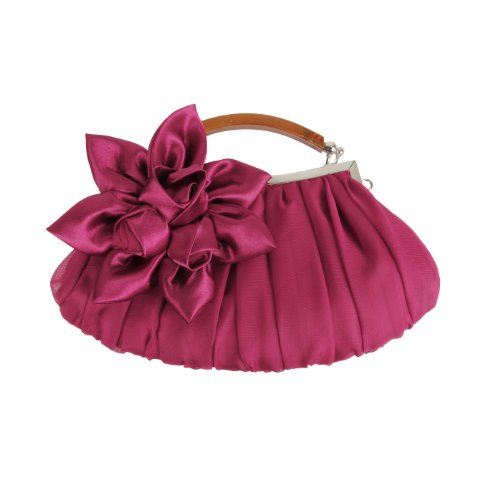 bmc-fuchsia-floral-embellished-sheer-chiffon-exterior-kissing-lock-clasp-resin-handle-framed-party-c