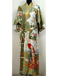 737da37c16b8 Geisha Kimono Peignoir Robe de Chambre Yukata Japonais