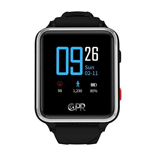 CPR Guardian 2 Smartwatch - La massima protezione in caso di emergenza. Mantiene chi lo indossa attivo, indipendente e sicuro in ogni momento.