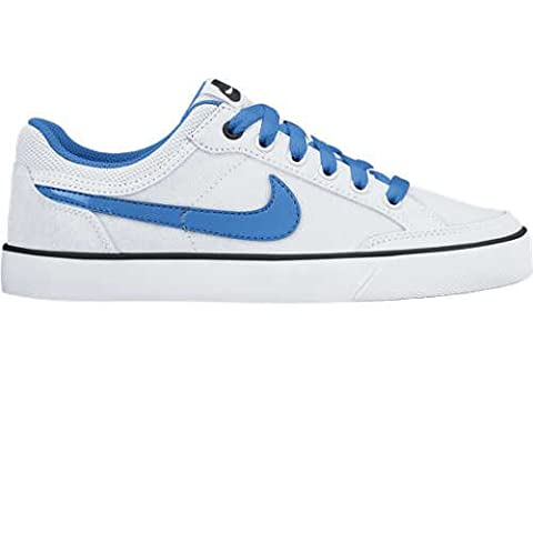 Nike Capri 3 LTR (GS) - Zapatillas para niño, color blanco / azul