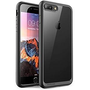 Funda iPhone 7 Plus, SUPCASE Unicorn Beetle Style Premium Funda protectora transparente híbrida para Apple iPhone 7 Plus 2016 Release (negro)