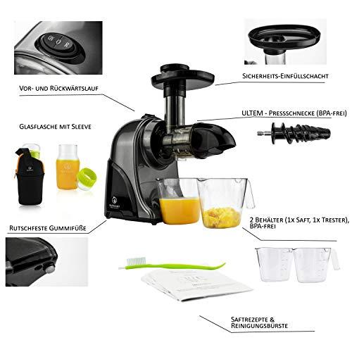 Nutrilovers Slow Juicer GREEN-PRESS - 3