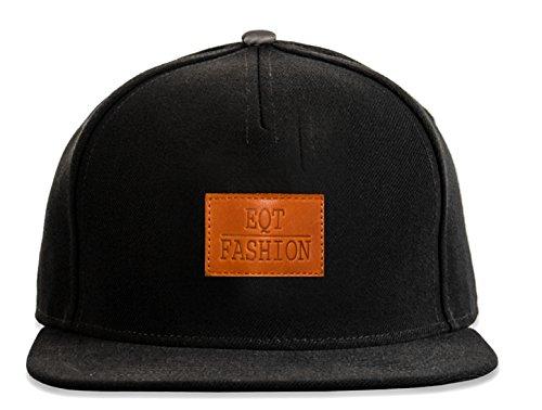 Premium Cap Damen Herren Snapback Leder Panel Cap Muster Cape Hut Mütze Accessoires -