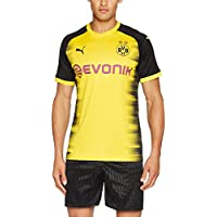 Puma BVB Int'L Replica Chemise Homme Cyber Yellow Black