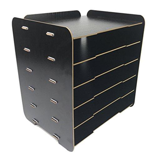 Ablageboxen Holz, LoKauf 6 Schicht Briefablage Ablagesystem Büro Dokumentenablage Schreibtisch Tisch Organizer
