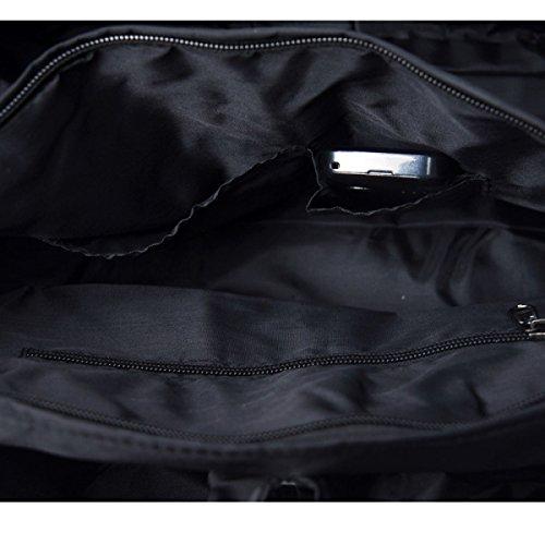 Multi-tasca Borse Mummia Moda Versatili Sacchetti Casuali Sacchetti Di Spalla Sacchetto Impermeabile Leggero Borse Sacchetto Grande Capienza SapphireBlue