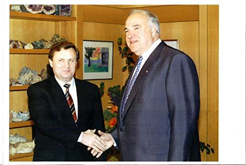 Fotomax Vintage Photo of Ivan Rybkin and Helmut Kohl