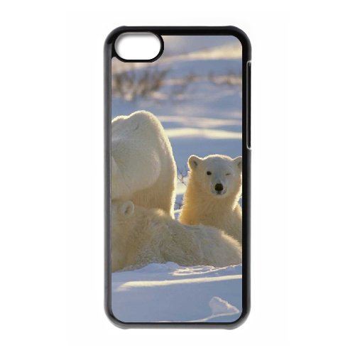 LP-LG Phone Case Of Polar Bear For Iphone 5C [Pattern-3] Pattern-1