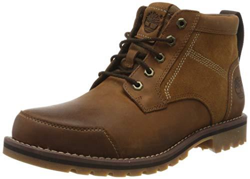 Timberland Larchmont Chukka, Botas Clasicas para Hombre, Marrón Medium Brown Nubuck, 43 EU