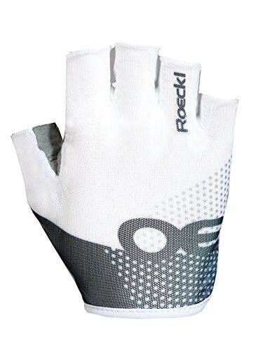 Roeckl Herren Idro Handschuhe, weiß/Schwarz, 10