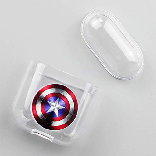 rs Cute Cartoon Plastic Case Protective Holder Bag for AirPods Headset Accessories(1) ()